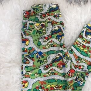 Brand New LuLaRoe road tween leggings